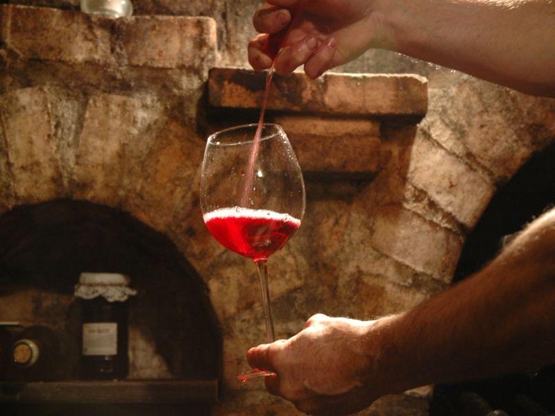 Ochutnávka vína ve sklípku s vinařem