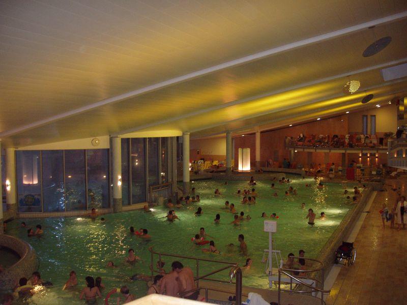 Termální lázně Laa an der Thaya Rakousko - vnitřní bazén